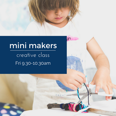 Mini Makers Craft | Friday