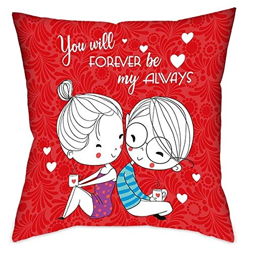 Valentine Love Pillow (You Will Forever My Always in Love )