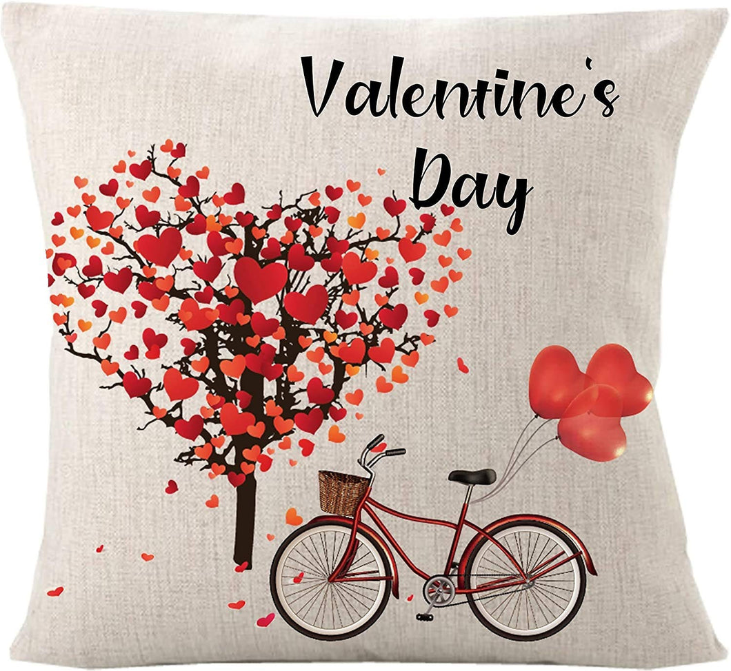 Beautiful Pillow With Valentine Day Theme