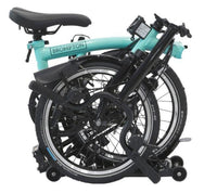 Brompton Black Edition - M6-RD TurkishGreen/Black