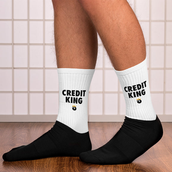 Credit King Socks
