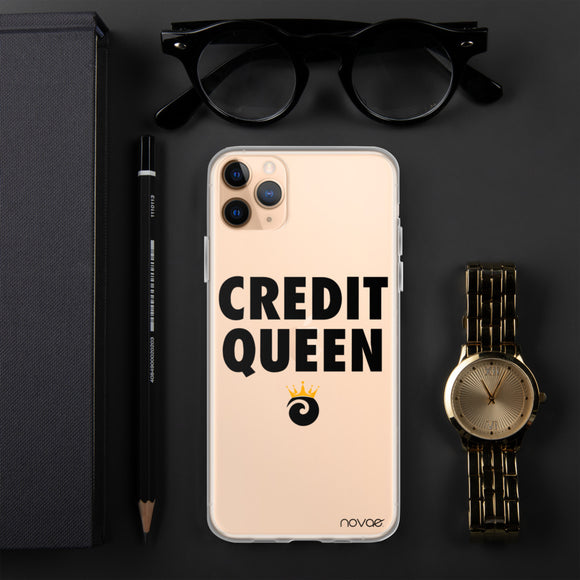 Credit Queen iPhone Case
