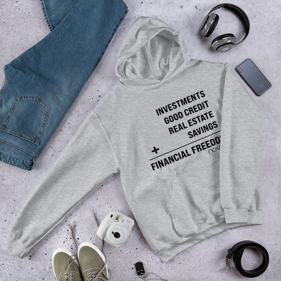 Financial Freedom Equation Unisex Hoodie