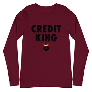 Credit King Long Sleeve Tee (Unisex)