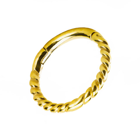 Jewelled Clicker in Gold