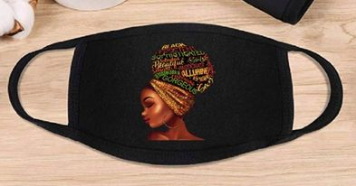 Melanin Girl Mask