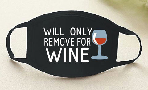 Wine Face Mask -