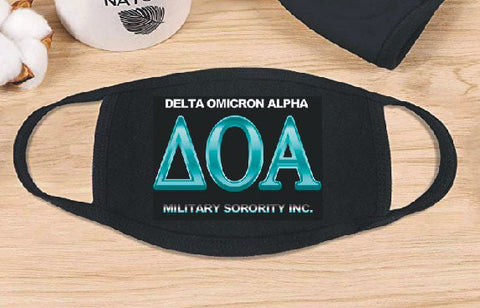 Delta Omicron Alpha  - Face Mask - Shipping is $0.05 for this item.