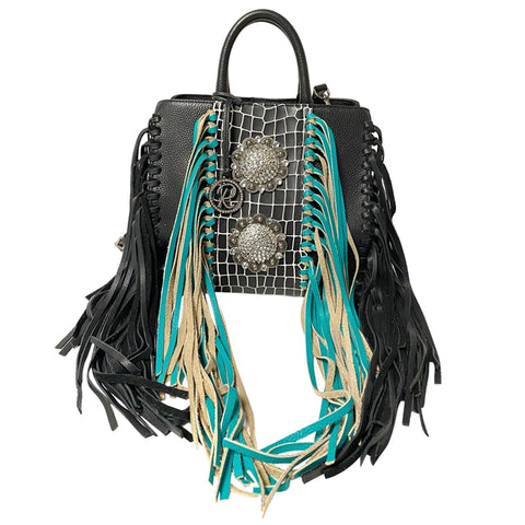Shelly's Fringe Satchel