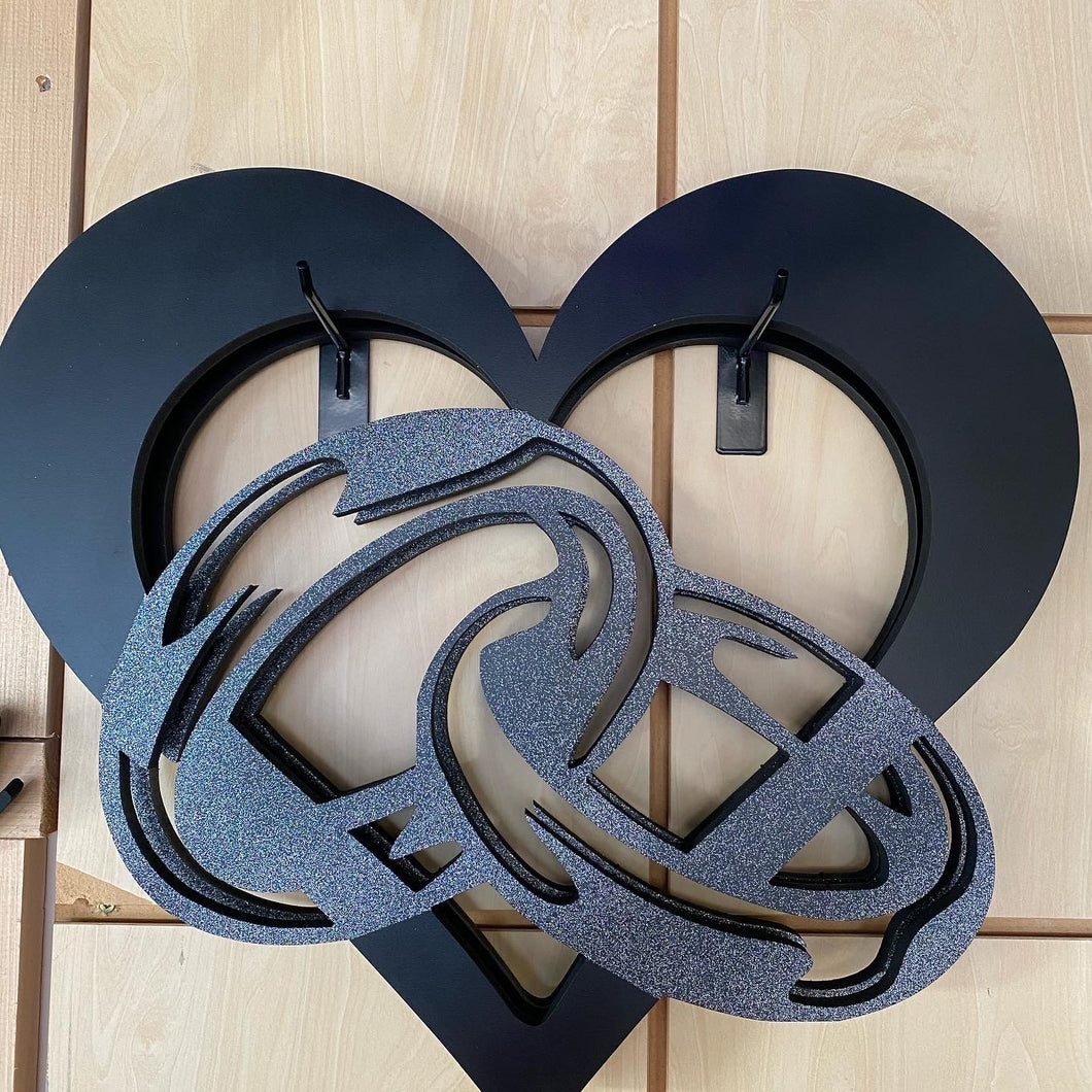 Infinity Heart Love Wood Wall Art 22-24