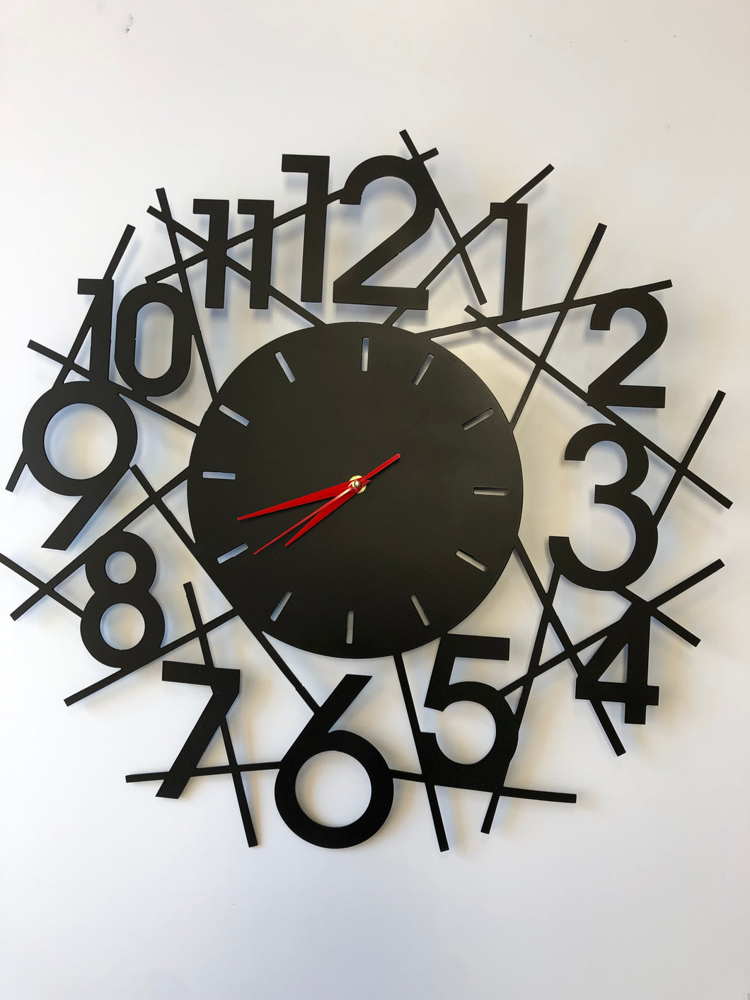 Abstract Clock 22