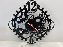 "Load image into Gallery viewer, Custom GEAR Clock Clock 19"" Round ,14 ga metal ,powder coated"
