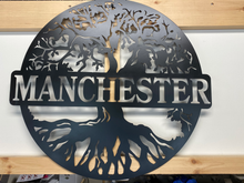 "Load image into Gallery viewer, Tree Of Life  18-36"" , 14 ga metal , powder coated"