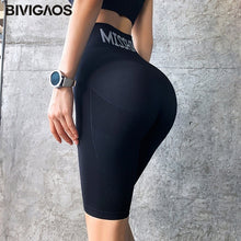 Load image into Gallery viewer, High waist fitness - Women