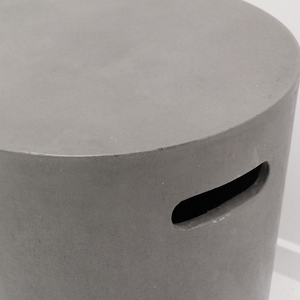 Concrete Side Table/Stool - Round 46cm