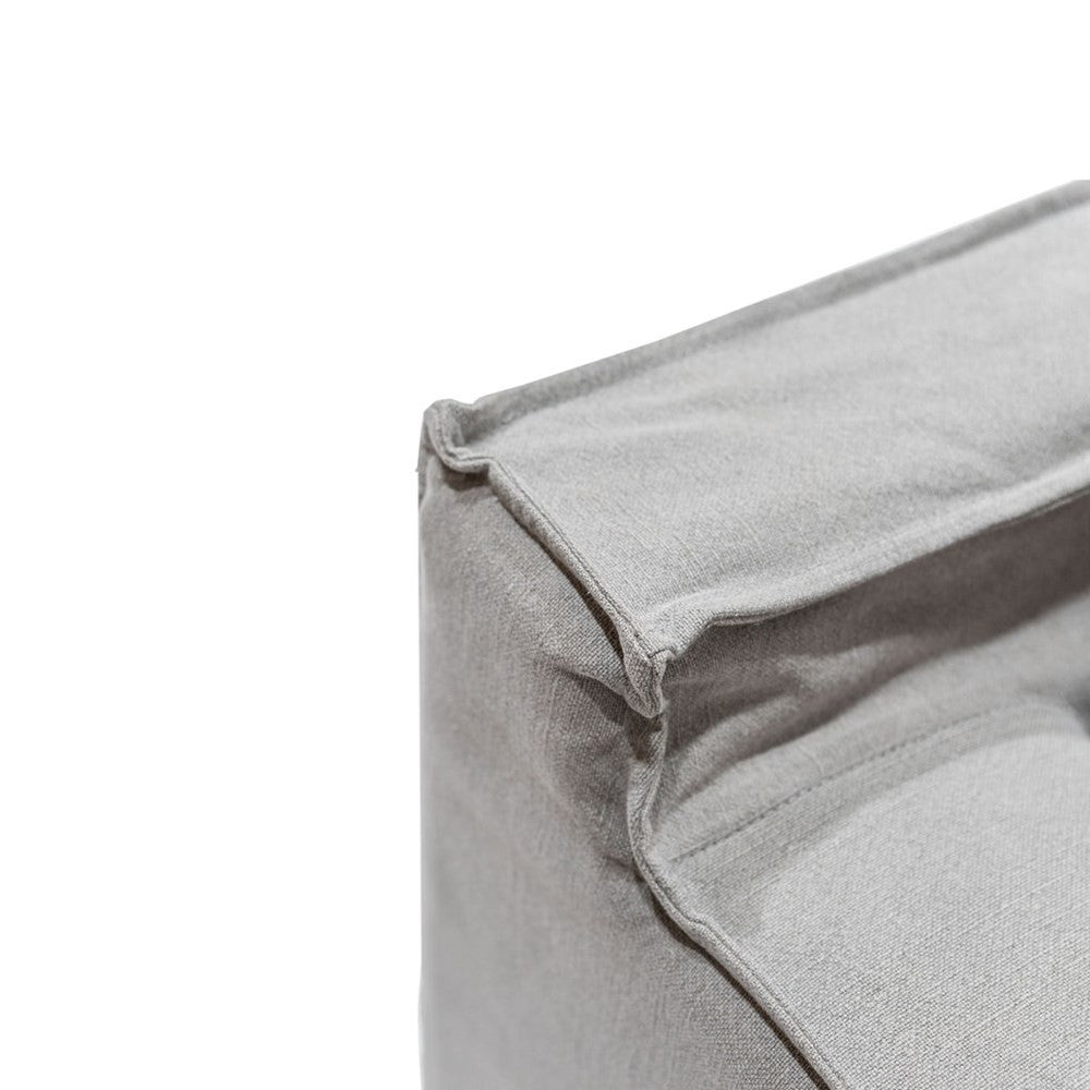 Keely Slipcover Sofa-Cement