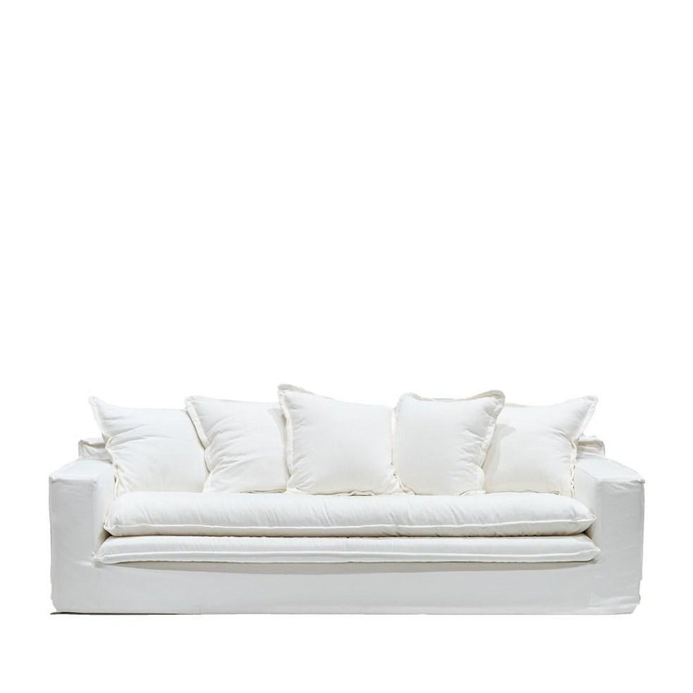 Load image into Gallery viewer, Keely Slipcover Sofa-White