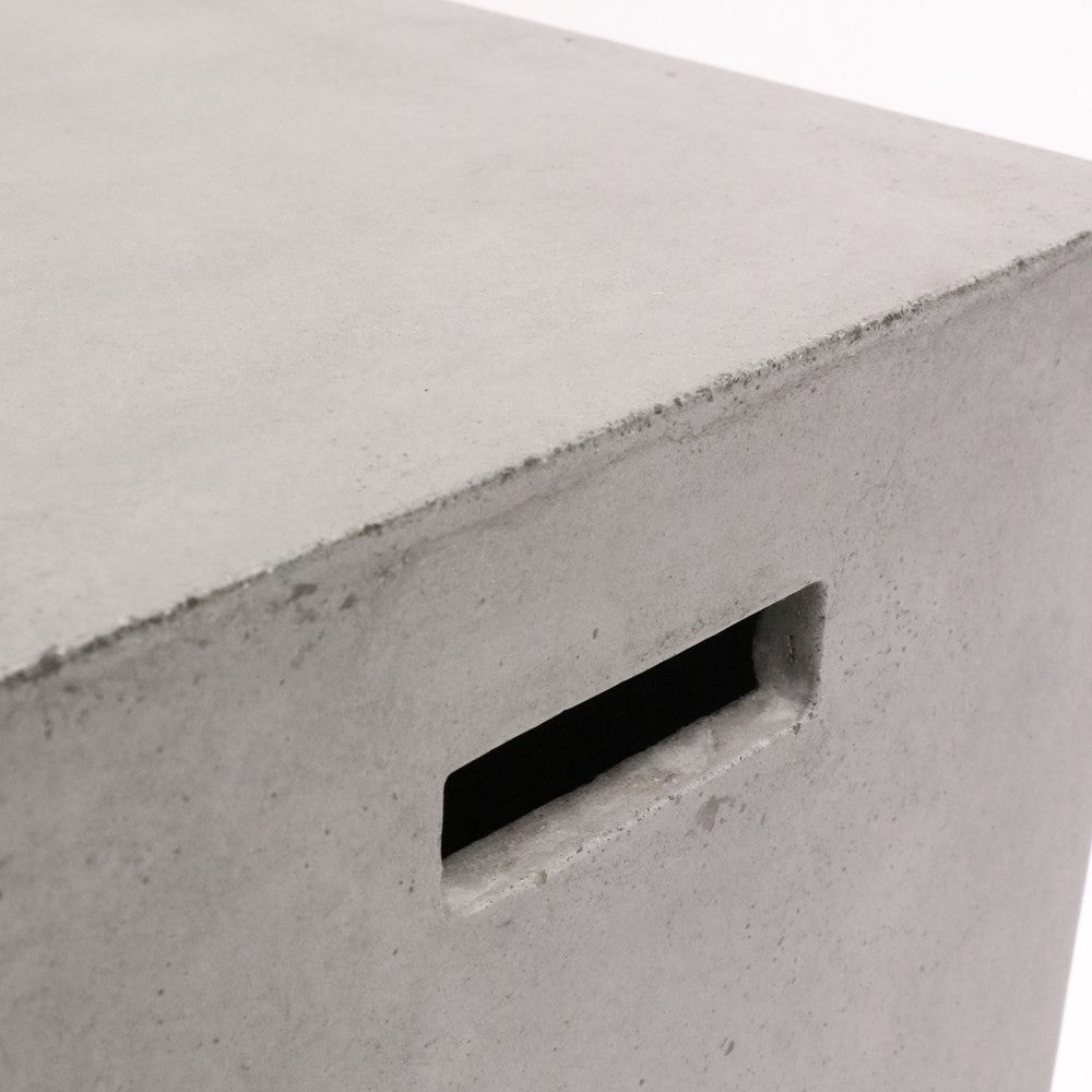 Concrete Side Table/Stool - Rectangle 46cm
