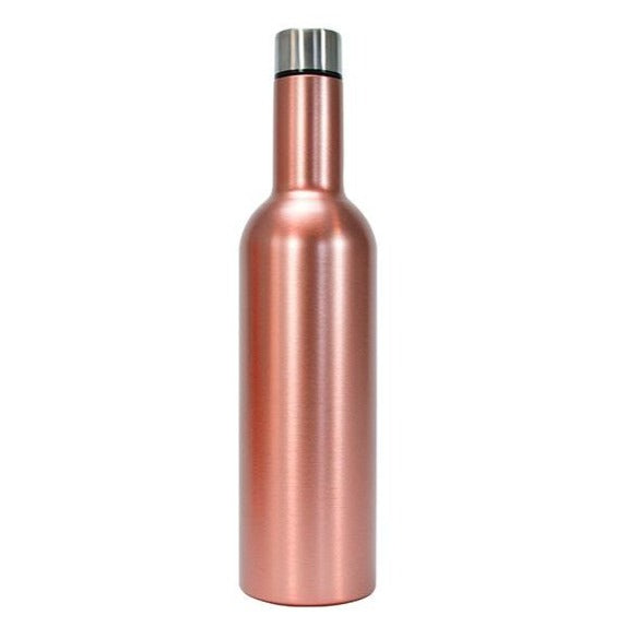 Load image into Gallery viewer, Wine Bottle - Rose Gold