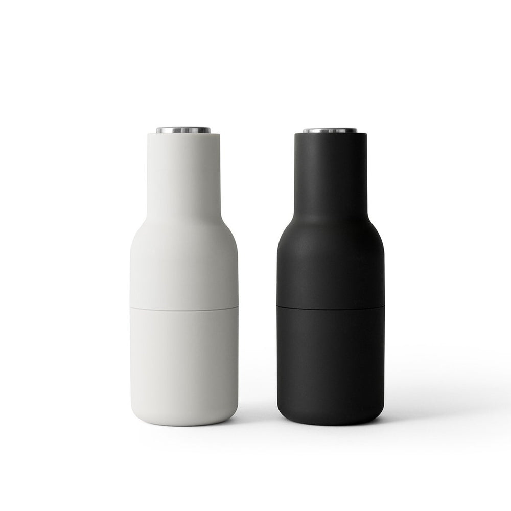 Menu Salt and Pepper Grinders - Ash/Carbon