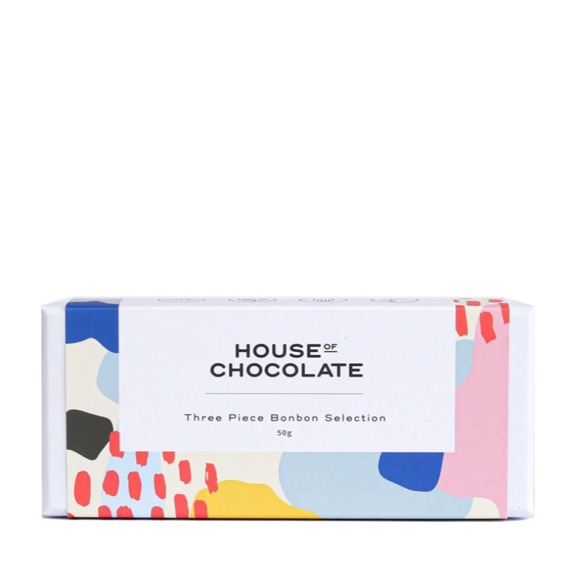 House of Chocolate - 3 Piece Bonbon Selection