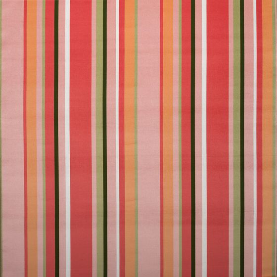 South Beach Stripe - Coral