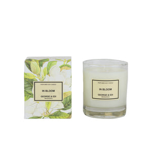 George and Edi Candle - In Bloom