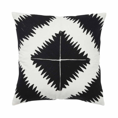 Ghana Cushion - Tar - Luxe Feather Filled