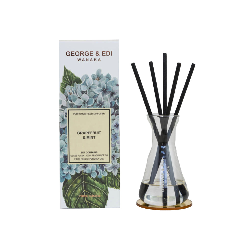 George & Edi Diffuser - Grapefruit & Mint