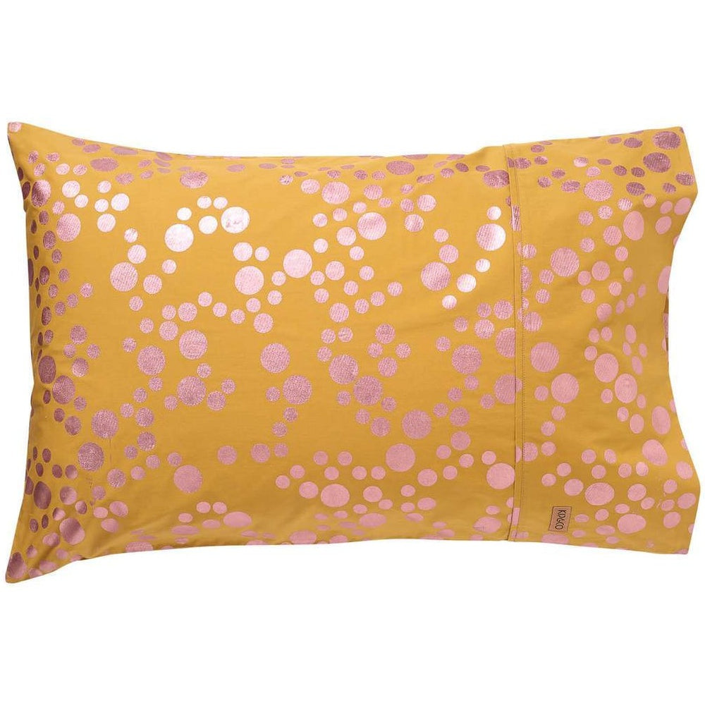 Kip and Co Spotty Foil Pillowcase