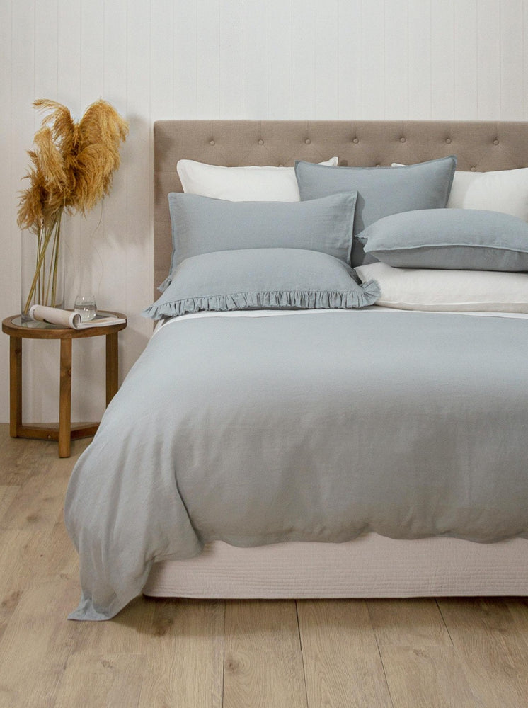 Wallace Cotton Loft Dove Duvet Set