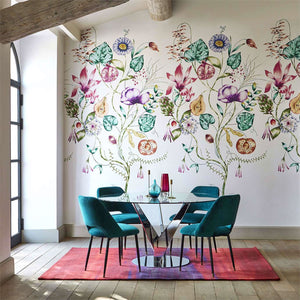 Quintessence Wall Panel - Lagoon/Cerise