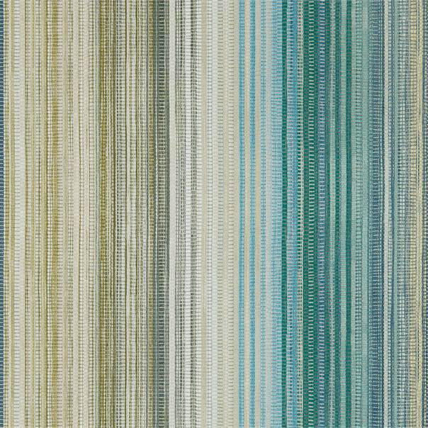 Spectro Stripe Wallpaper - Emerald/Marine