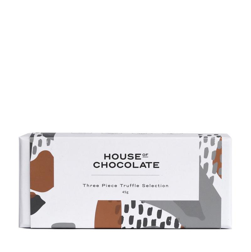 House of Chocolate - 3 Piece Truffle Selection