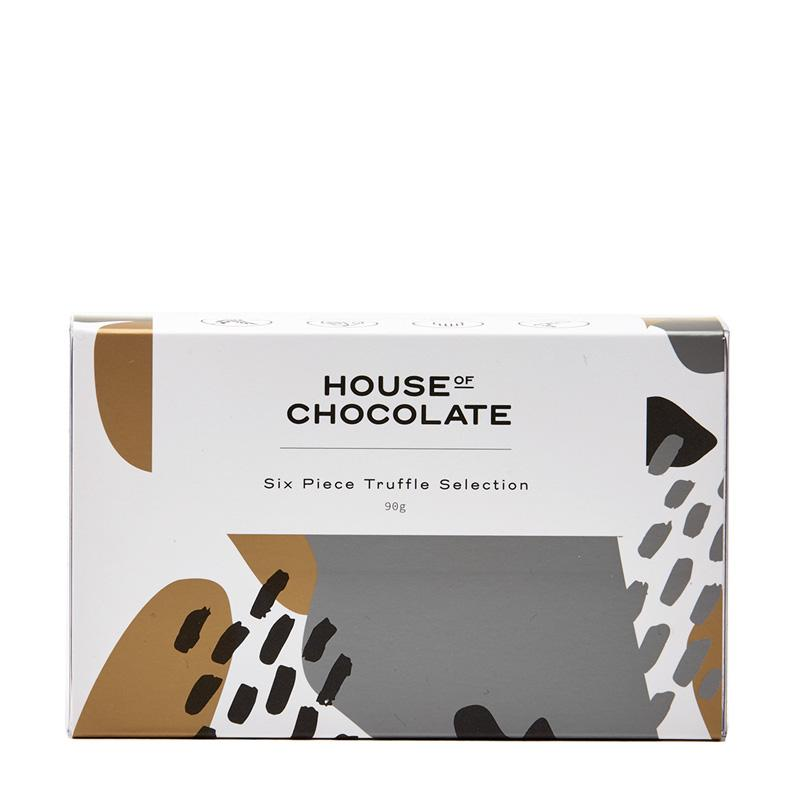 House of Chocolate - 6 Piece Truffle Selection