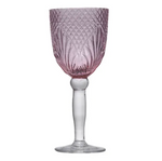 French Country Vintage Pink Goblet - Set of 4