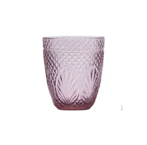 French Country Vintage Pink Tumbler - Set of 4