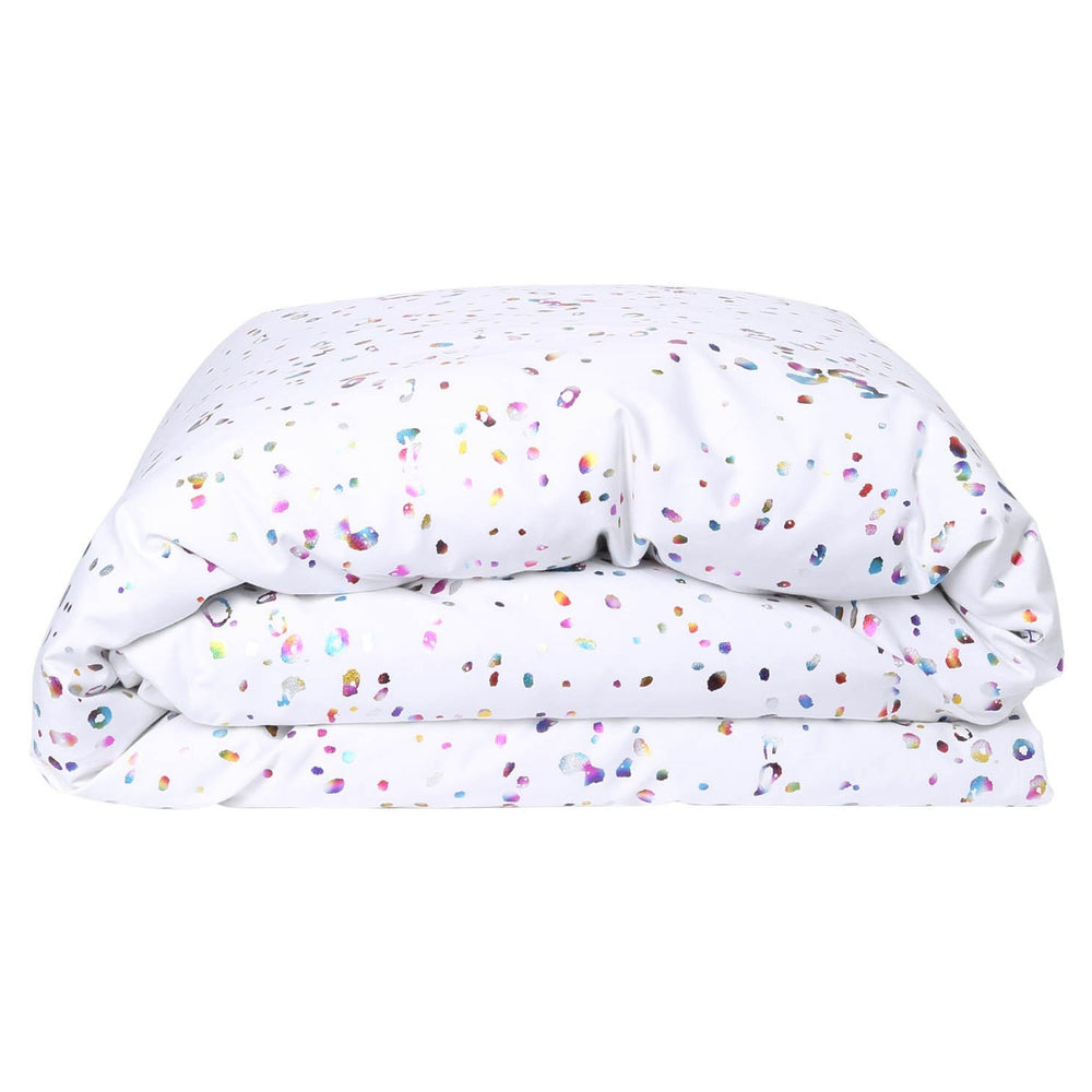 Kip and Co Splatter Foil Duvet Cover