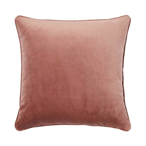 Zoe Cushion - Blush - Luxe Feather Filled