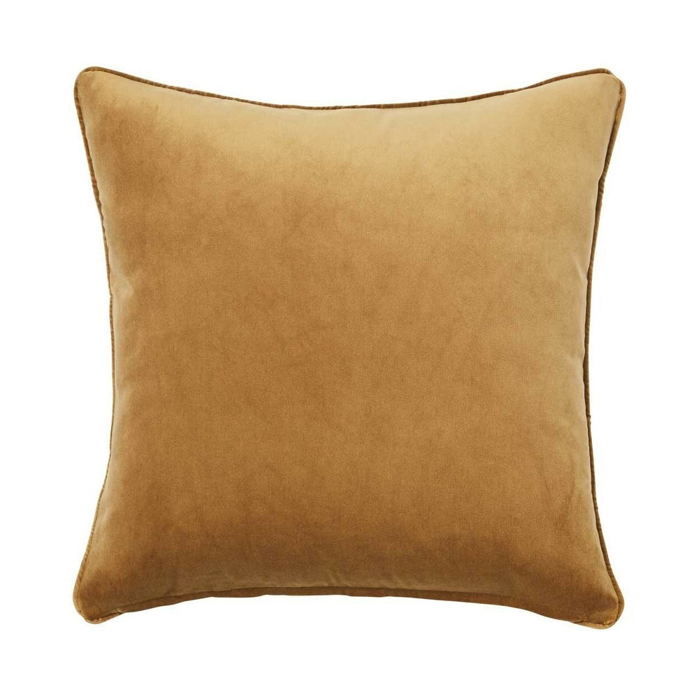 Zoe Cushion - Brass - Luxe Feather Filled