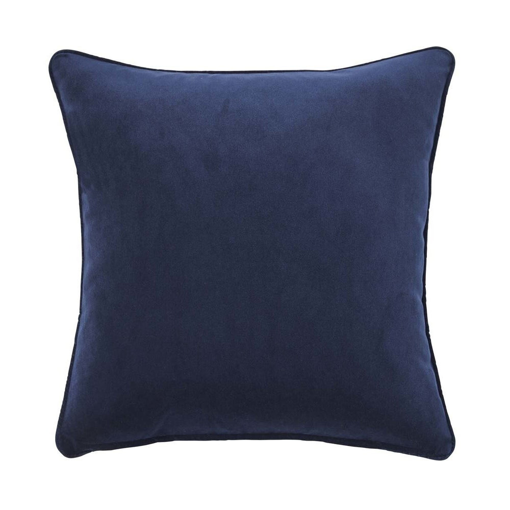 Zoe Cushion - Ink - Luxe Feather Filled