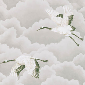 Cranes in Flight Wallpaper - Platinum