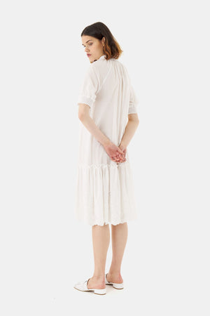 Load image into Gallery viewer, Sylvester Broderie Smock Dress