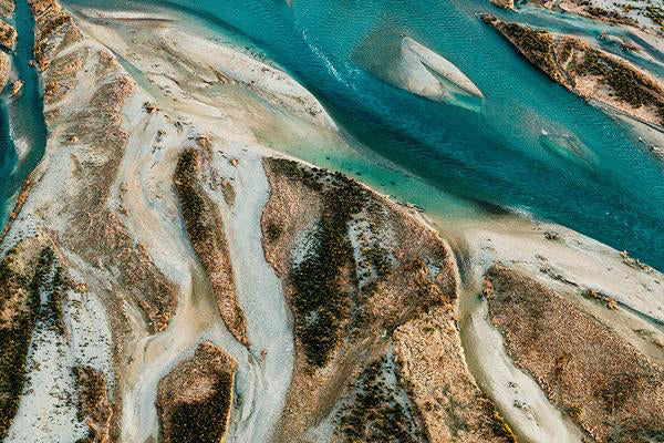 Load image into Gallery viewer, Emma Willetts - Waitaki River Braids Print