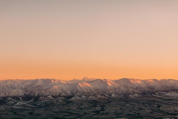 Load image into Gallery viewer, Emma Willetts - Sunrise over the Waitaki Ranges Print