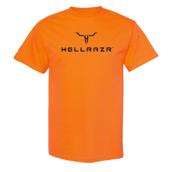 T-Shirt Coton Orange Hellrazr™