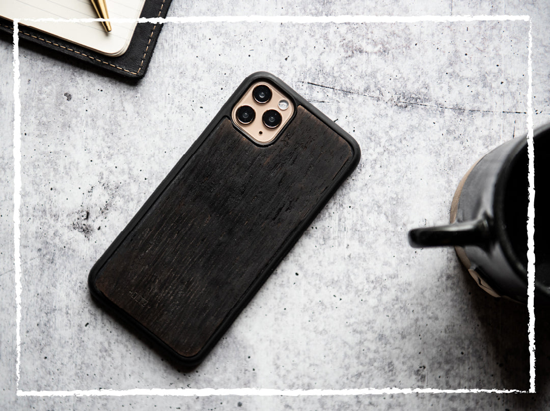 CHARRED TENNESSEE WHISKEY BARREL PHONE CASE - IPHONE/GALAXY UNIQUE WOOD CASE