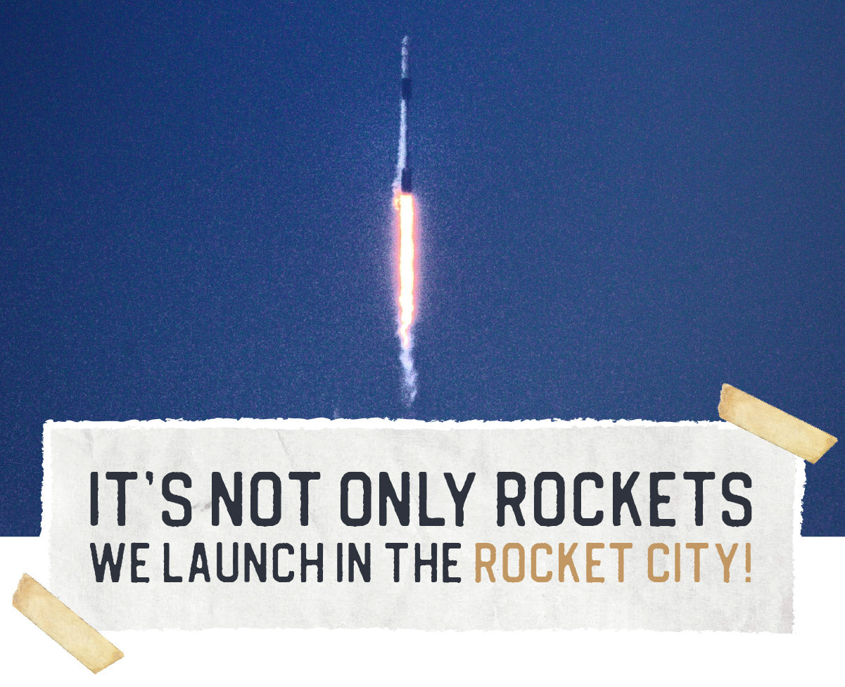 It's not only rockets we launch in the Rocket City!
