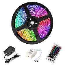 5 Meters Waterproof Multicolor LED Strip