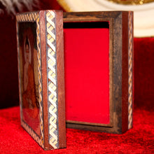 Load image into Gallery viewer, Wooden Buddha Box
